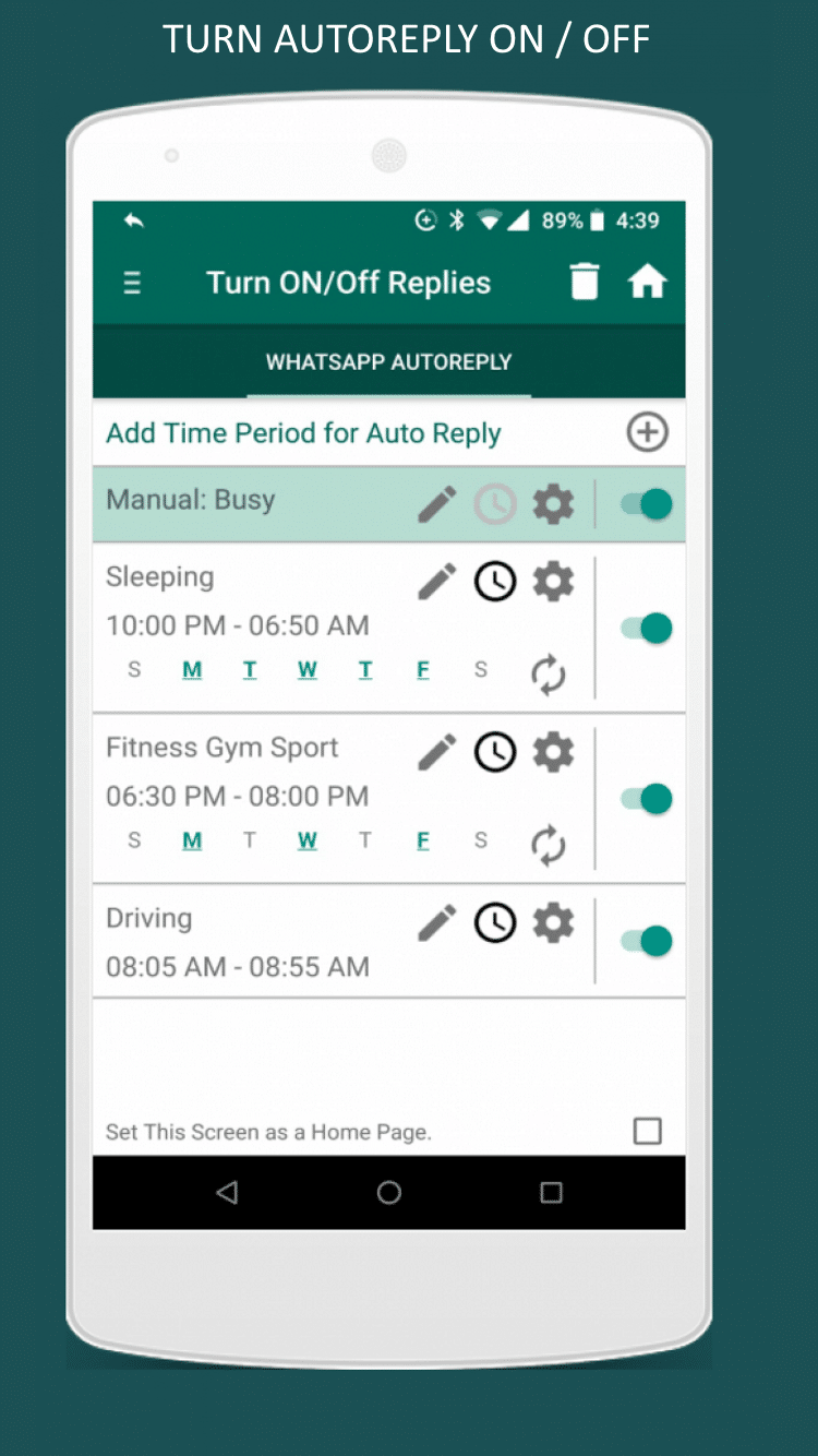 Auto Reply for WhatsApp and WhatsApp Business