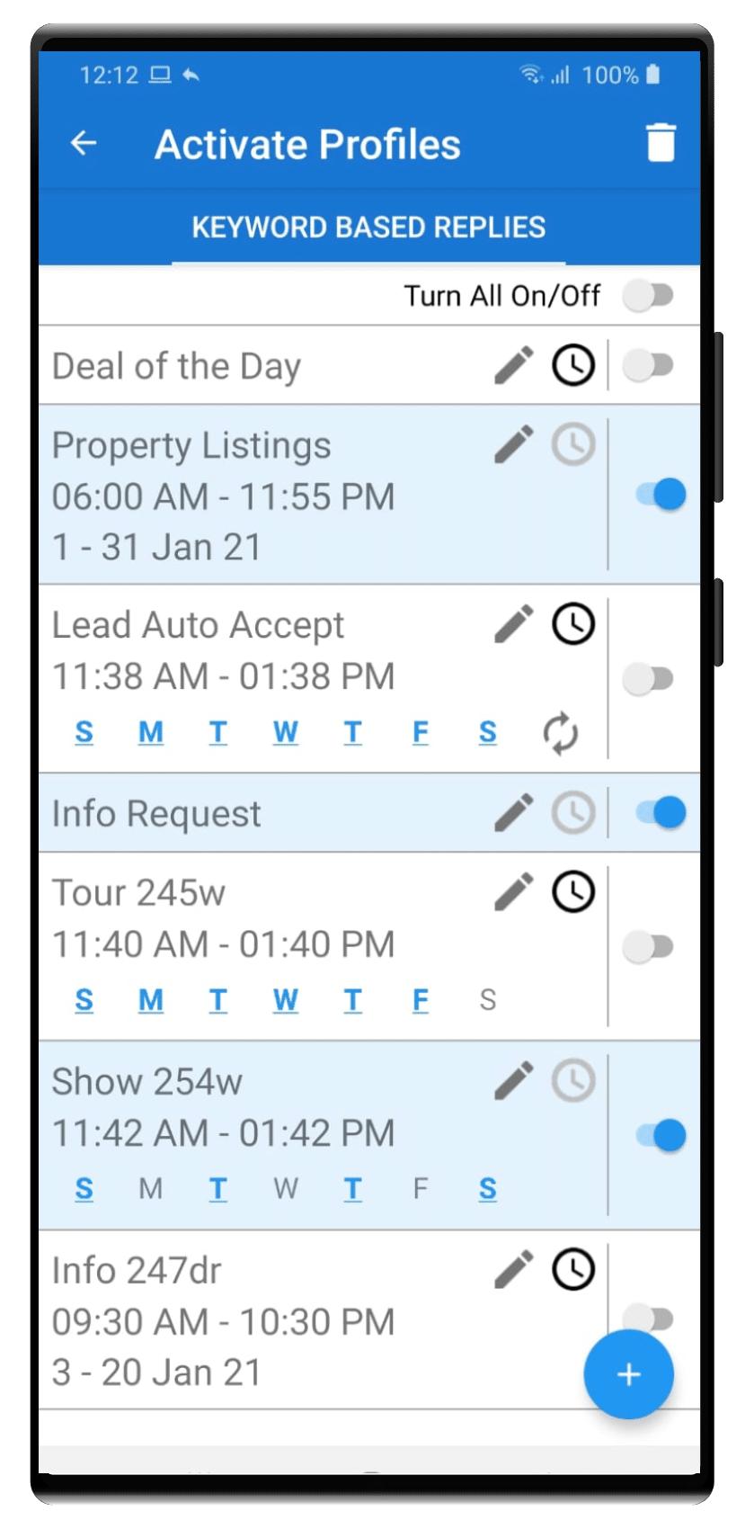 SMS Marketing Autoresponder Android App