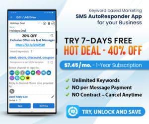 LeMI Apps -SMS Marketing Auto Reply