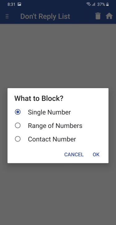 2. Choose What to Block