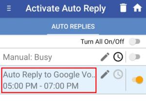google voice text messages